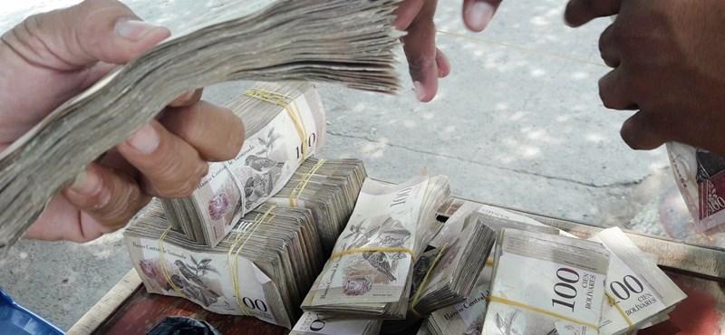 Alig fér ki a sok nulla az új bankjegyen, de így sem mennek vele sokra