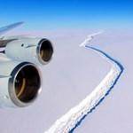 Leszakadt egy 1 billió (!) tonnás jégdarab az Antarktiszról