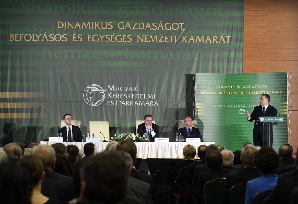 mti.17.02.28. - Orbán Viktor beszéde a Magyar Kereskedelmi és Iparkamara (MKIK) gazdasági évnyitóján. - 7képei, évképei