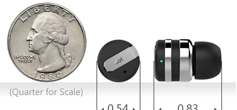 Szétkapkodják a neten a világ legkisebb bluetooth-os headsetjét
