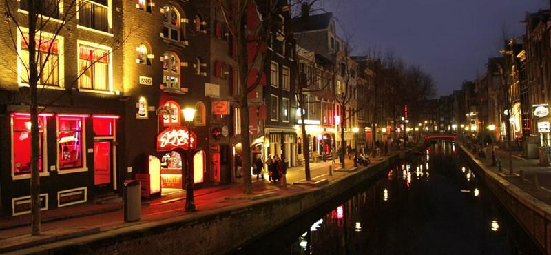 Csendes forradalom a vörös lámpás negyedben, Amszterdamban