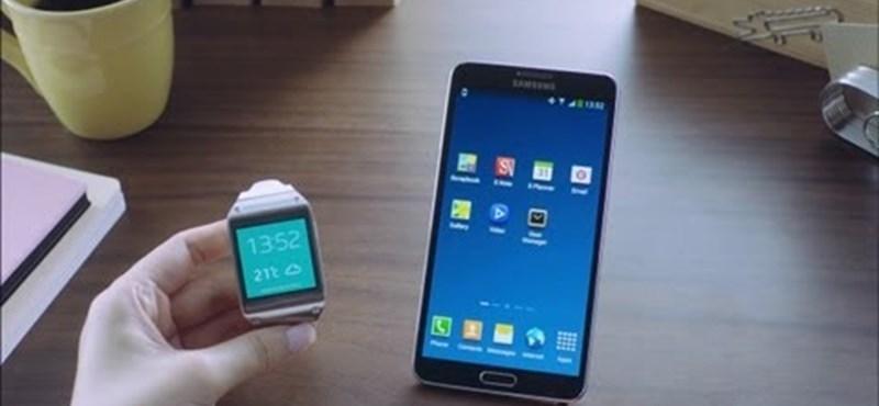 Videó: így működik együtt a Samsung okosórája és mobilja