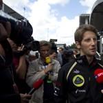 Grosjean már kétségbeesetten kerüli a bajt