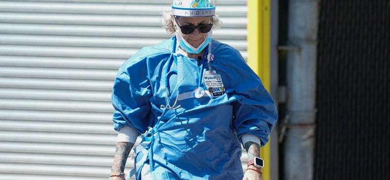 Egy intenzíves ápoló is az év 100 legbefolyásosabb embereinek egyike lett