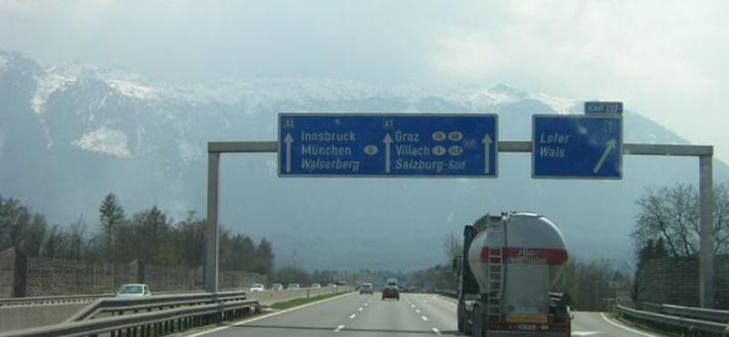 Németországban 100 euró lehet az autópályadíj