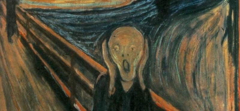 Kiderült, mi az a rejtélyes folt Munch világhírű festményén
