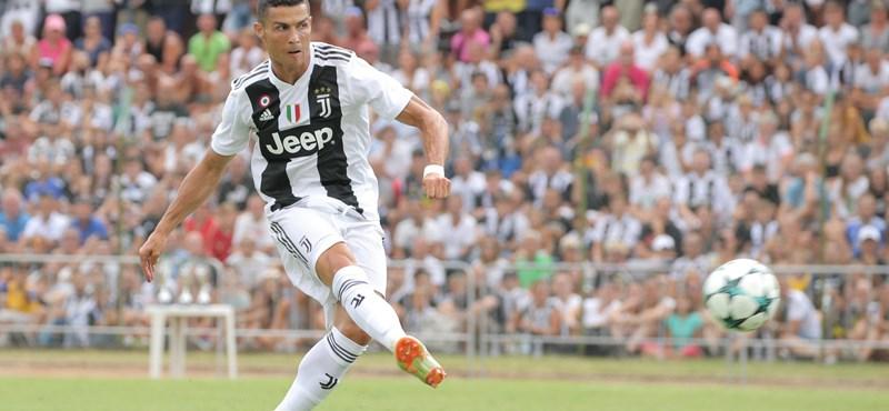 Ronaldo ma rúgatott három gólt a társaival
