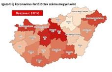 Cser-Palkovics: Drasztikusan nőtt a megyében a fertőzöttek száma