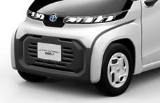 Itt a Toyota szupermini villanyautója, ami mellett még a Smart is hatalmas