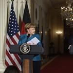 Ahogy Merkelt letudta, Trump beszólt a németeknek