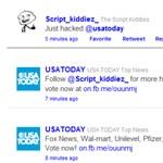Feltörték az USA Today Twitter fiókját