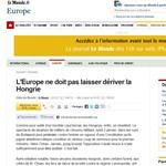 Le Monde: megvonhatják a magyarok EU-s szavazati jogát