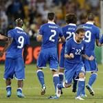 Döntetlen után Diamanti továbbrúgta Olaszországot