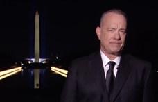 Tom Hanks nyitotta meg a virtuális bulit Joe Biden beiktatása után – videók
