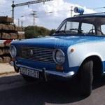 Ötvös Csöpi is elfogadná: rendőrségi ezerkettes Lada - 6 millió forintért