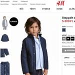 A H&M kicsit belezavarodott a saját akcióiba