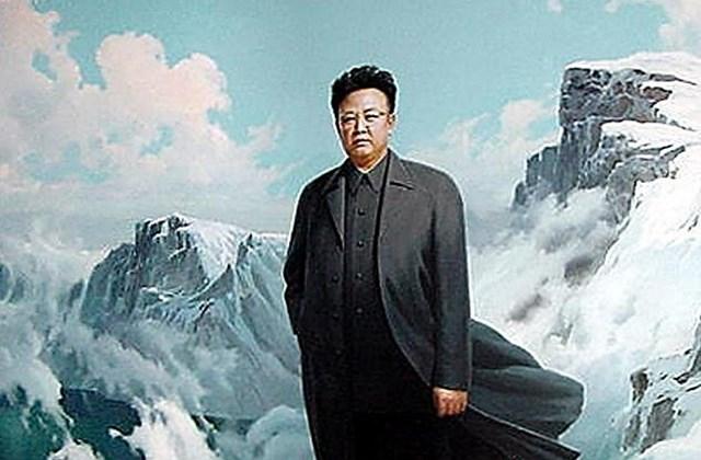 Kim Dzsong Il a Pektu-hegységnél született