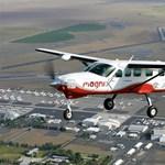 Ilyen még nem volt: egyhuzamban 28 percen át volt a levegőben a magniX e-repülőgépe