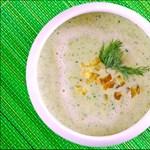 Hőhullám ellen hideg kovászos uborka leves - recept