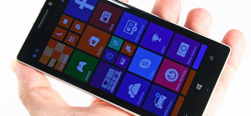 Nokia Lumia 930: kipróbáltuk az eddigi legjobb windowsos mobilt
