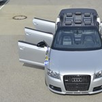 Német humor Audi módra: íme a nyolcszemélyes A3 kabrió