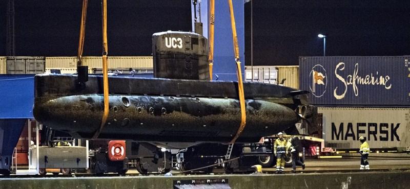 Megsemmisítették a dán horror-tengeralattjárót
