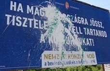 Ab: nem alaptörvénysértő a szegedi plakátrongálók elítélése