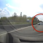 Videó: Valaki úgy gondolta, megfordul az M7-esen csütörtök délután