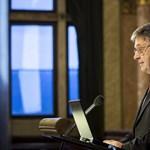 Nemzetközi sajtótájékoztatót tart az MTA-elnök Lovász László - élő