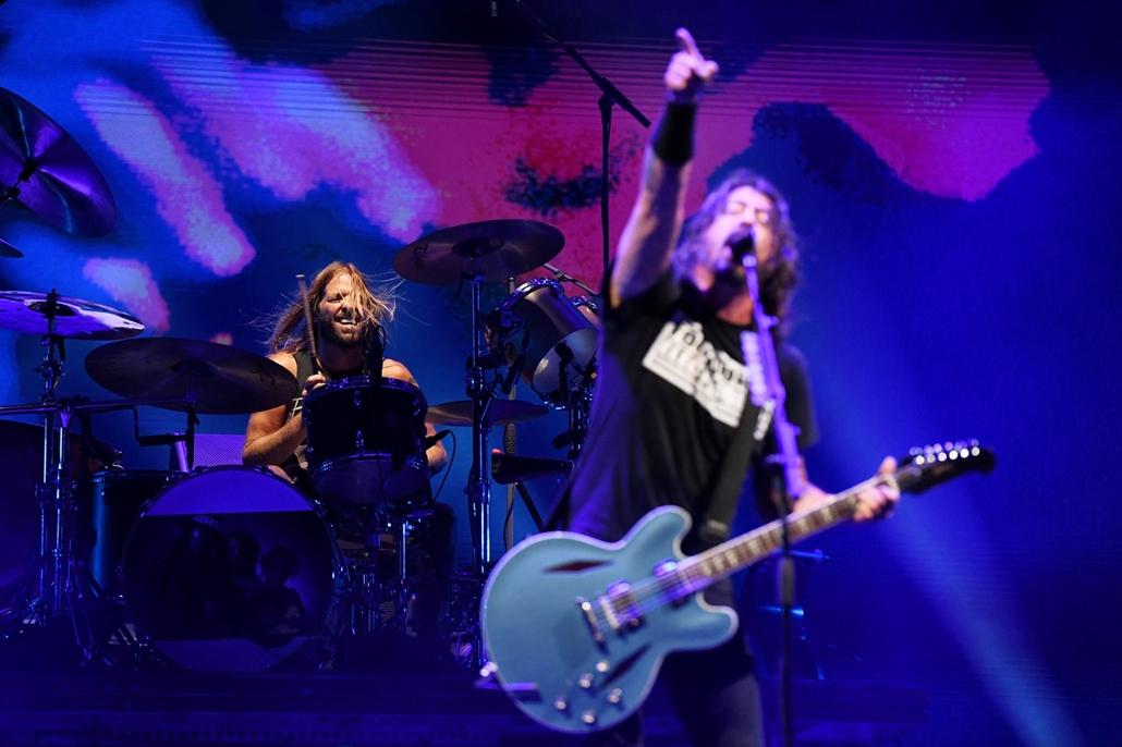 rev.19.08.13. Foo Fighters koncert, Dave Grohl, Sziget Fesztivál 2019
