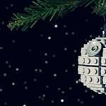 Frappáns ajándék: csináld magad Halálcsillag karácsonfadísz Legóból