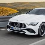 Felfrissítették a 4 ajtós Mercedes-AMG GT-t