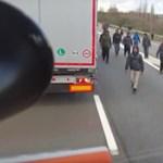 Vádat emeltek a brutális magyar kamionos ellen