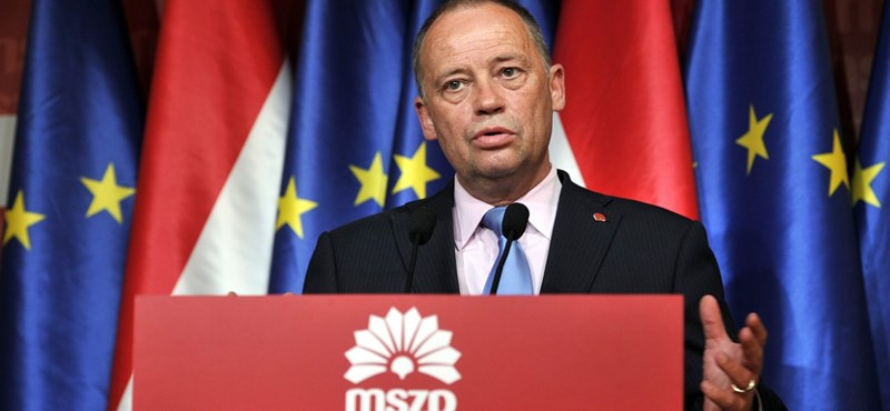 Az MSZP által támogatott jelölt ellen beszél Szanyi Tibor