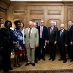 Amerikai képviselők jártak ma a CEU-n