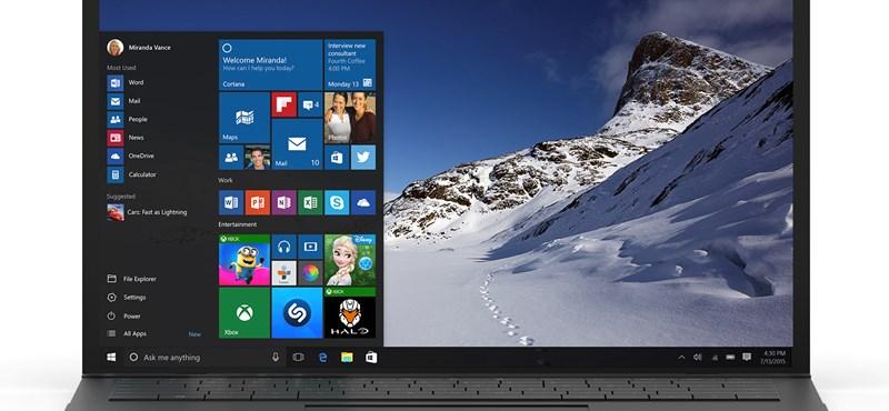 Megvan a Windows 10 megjelenésének napja