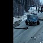 Videó: Alaszka a földrengés után, most nem divatterepjáróknak való vidék