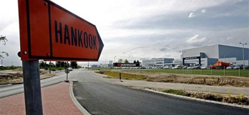Már teljes kapacitással termel a Hankook Rácalmáson