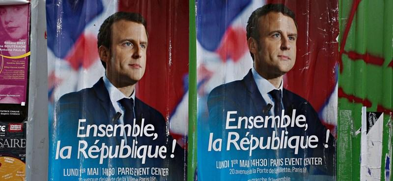 Putyin most barátkozik az új francia elnökkel