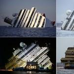 A Costa Concordia és az új iPhone - a hét képei - Nagyítás-fotógaléria