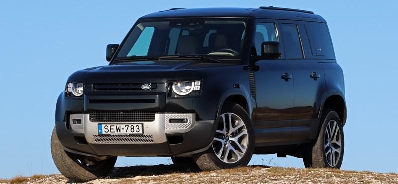 Védelmező: teszten a több évtized után teljesen megújult Land Rover Defender