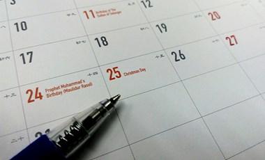 Mikor lesz a 2019-es tavaszi szünet, a májusi érettségi és a kötelező felmérések?