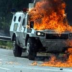 Már több mint 90-en haltak meg a venezuelai tüntetésekben