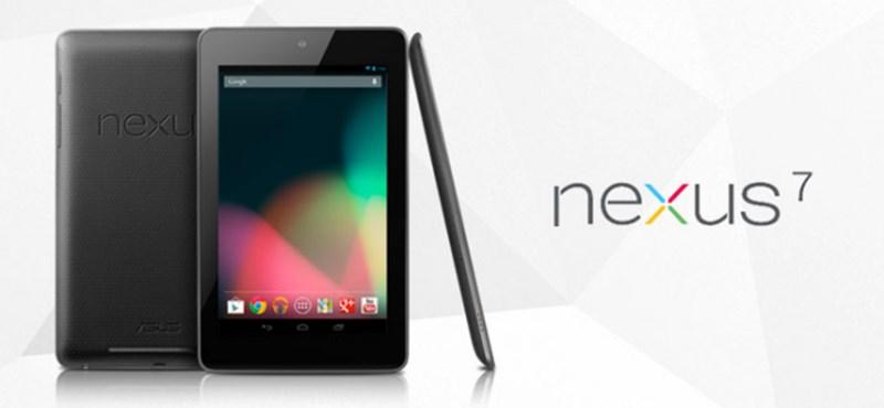 Itt az új Android és a tényleg olcsó Google Nexus 7 táblagép