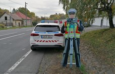 Makettrendőrökkel erősített a nógrádi hatóság