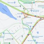 Négy autó ütközött az M1–M7 közös szakaszán Budaörsnél, leterelik a forgalmat