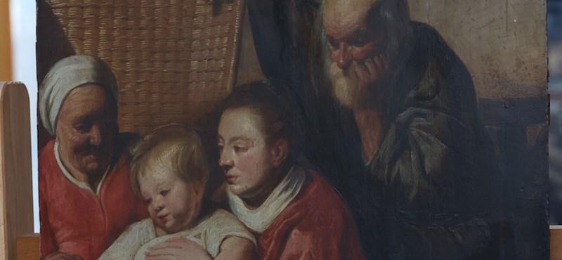 Hatvan évig lógott Brüsszelben egy falon, mire rájöttek, hogy barokk remekmű