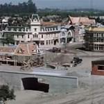 Így épül fel Disneyland mindössze 1 perc alatt – archív timelapse videó