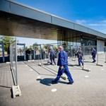 Újraindult a munka a kecskeméti Mercedes-gyárban
