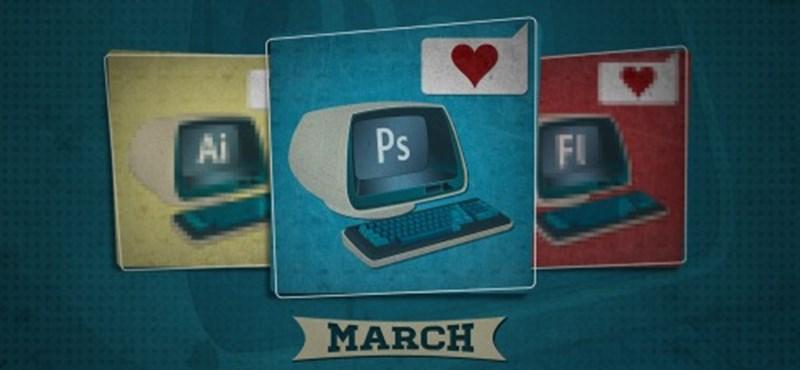 Dobd fel a géped egy márciusi naptárral!